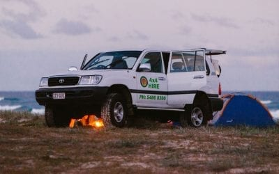 Why you should explore Fraser Island in a 4WD hire?
