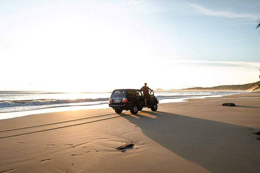Rainbow Beach 4x4 rentals takes you there